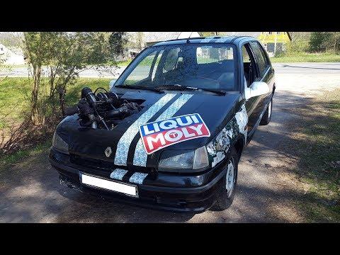 Renault Clio gyvenimas :-(