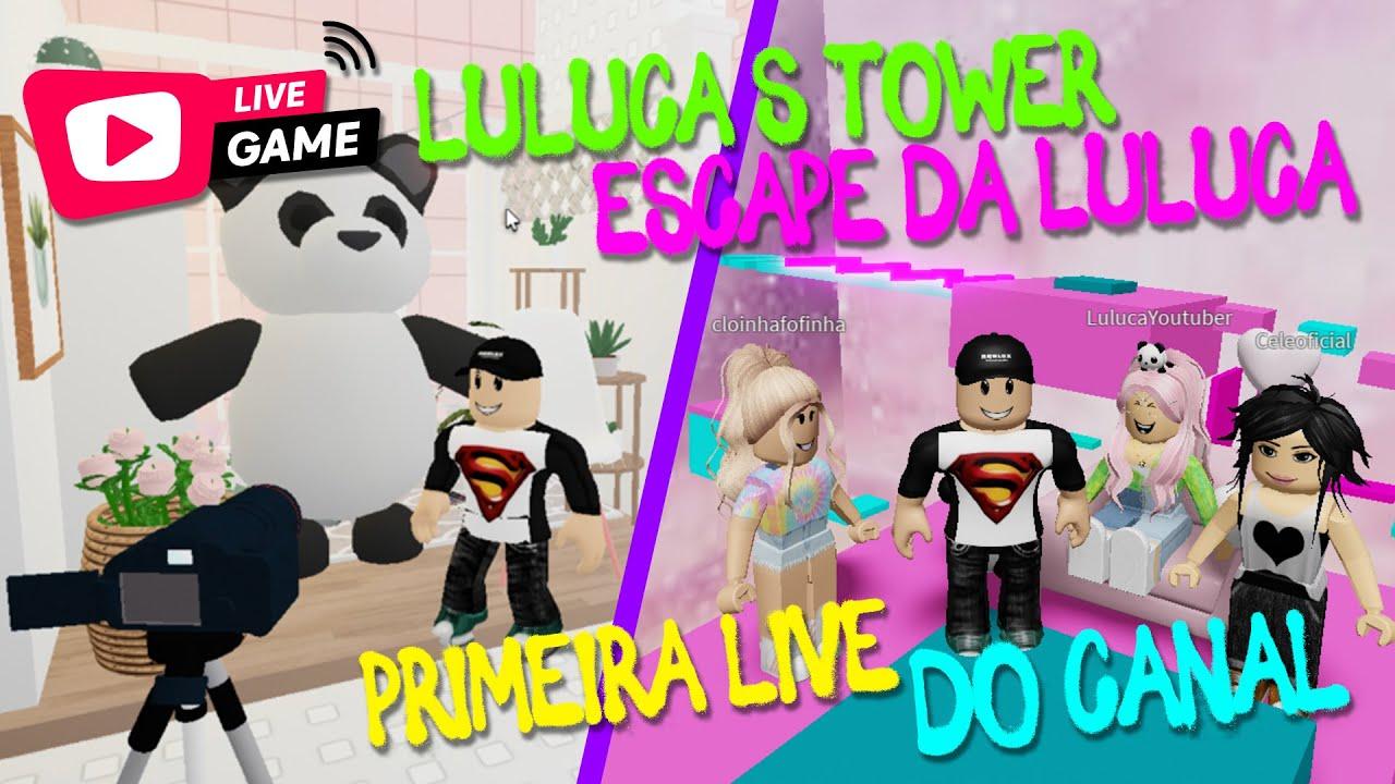 ROBLOX | JOGOS DA LULUCA PRIMEIRA LIVE GAME