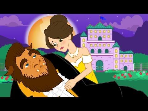 La Belle et la Bête | 1 Conte + 4 comptines et chansons  - dessins animés en français
