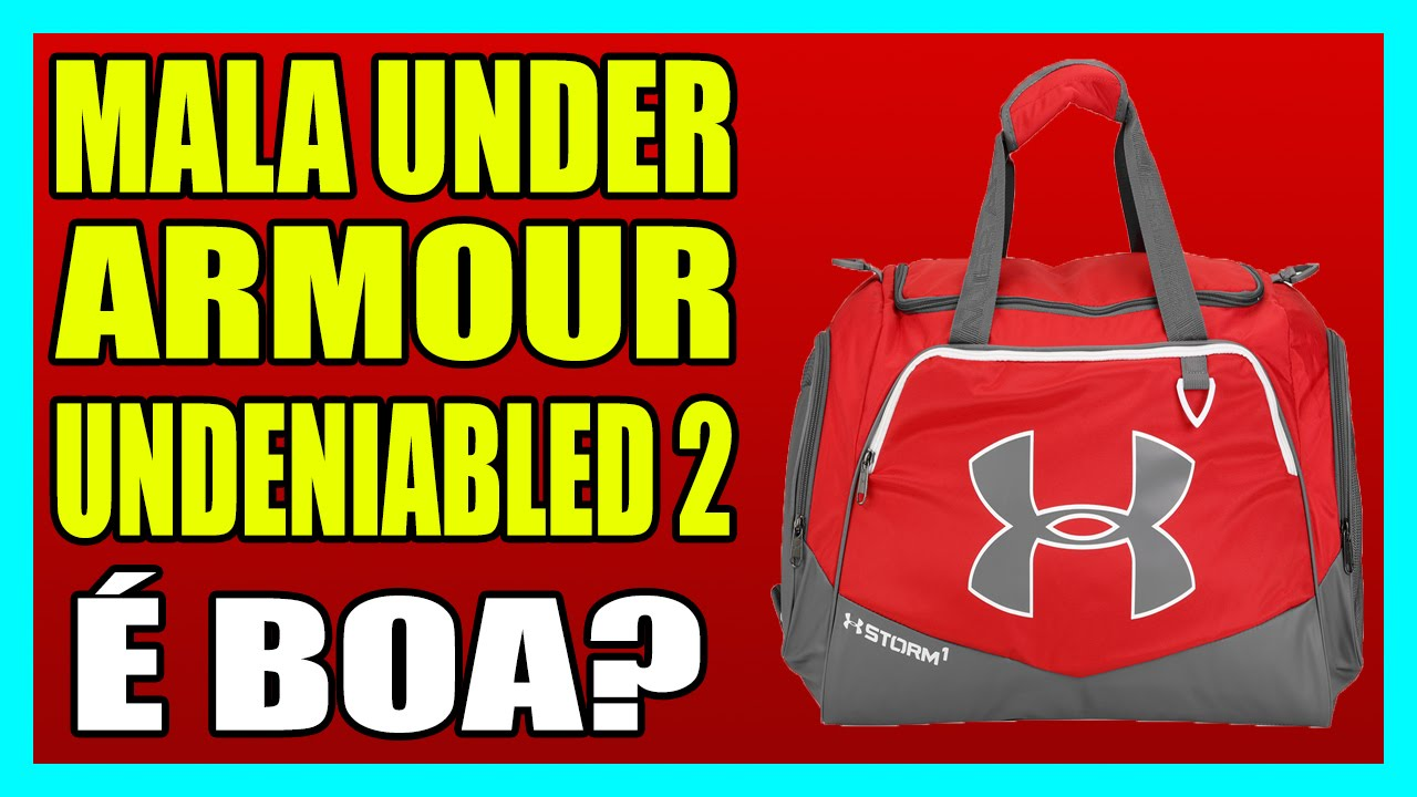 b00a5edf285b MALA UNDER ARMOUR UNDENIABLED 2 - YouTube