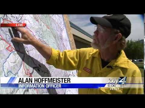 Firefighters continue assualt on Carlton Complex fires