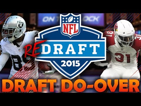 What if the 2015 NFL Draft Had a Do-Over? 2015 NFL Redraft | Madden 18 Connected Franchise