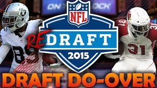 what if the 2015 nfl draft had a do over? 2015 nfl redraft madden 18 connected franchise