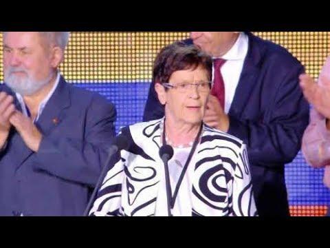 سخنرانی ریتا زوسموت - رئیس پیشین مجلس فدرال آلمان -گردهمايي بزرگ مقاومت ایران در پاريس
