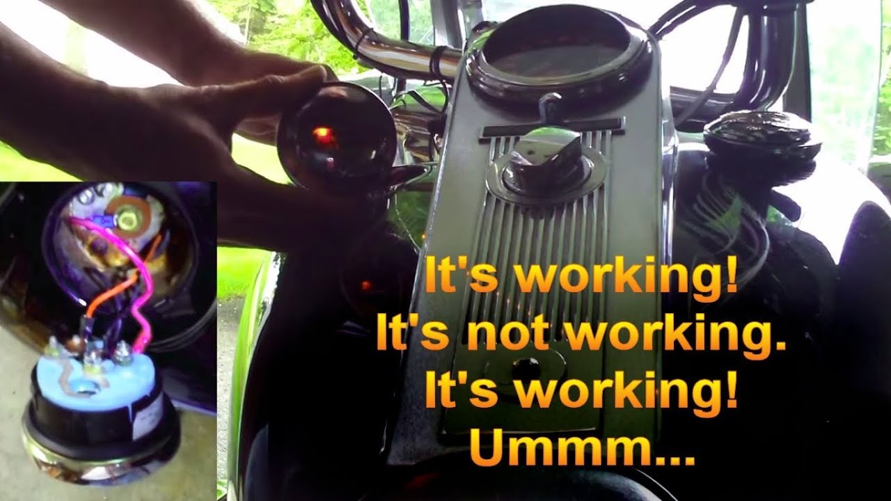 Harley Davidson Low Fuel Light Issue on