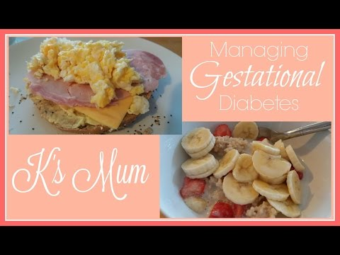 How I Manage My Gestational Diabetes | What I Eat for Breakfast | K's Mum
