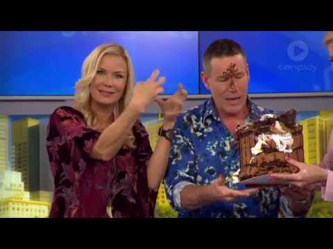 Craig Bennett Drops Katherine Kelly Lang's Birthday Cake