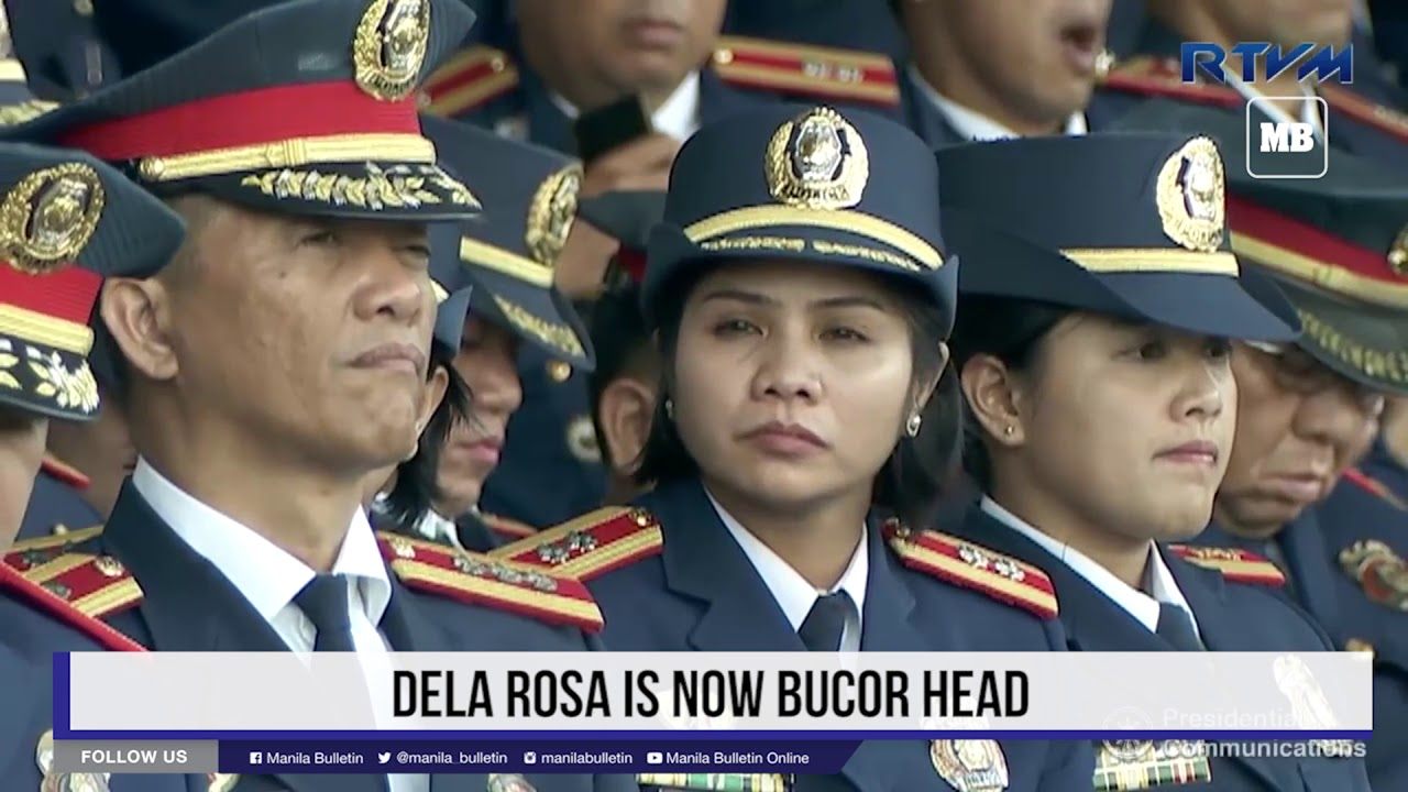 Dela Rosa is now BuCor head