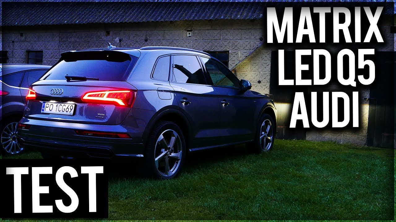 2018 AUDI Q5 S Line QUATTRO MATRX LED Night Test [Jazda Próbna] PL