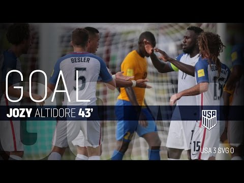 MNT vs. Saint Vincent and the Grenadines: Jozy Altidore Goal - Sept. 2, 2016