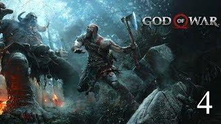 Прохождение игры God of War (Ps4 Pro) НА МАКСИМАЛЬНОМ УРОВНЕ СЛОЖНОСТИ.Стрим#4