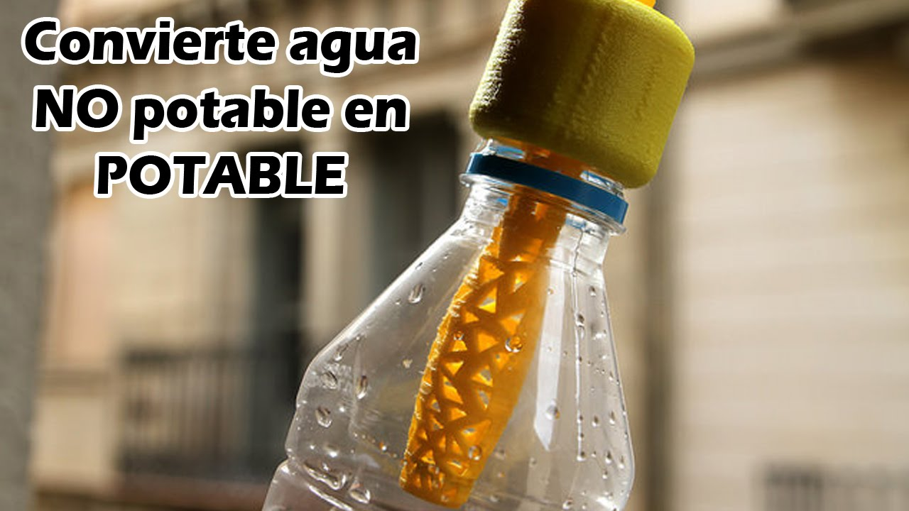 Convertir agua no potable en potable youtube for Lavavajillas no calienta el agua