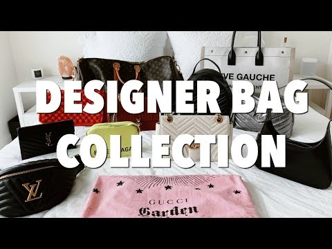 DESIGNER BAG COLLECTION: balenciaga, ysl, louis vuitton & more