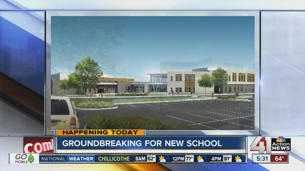 Trailwood Elementary Groundbreaking Marks First Of Three For Shawnee Mission School District