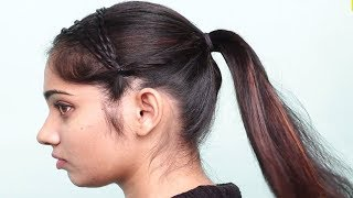 Running late Hairstyle For school/college/work || hair style girl | Hairstyles for long hair 2018