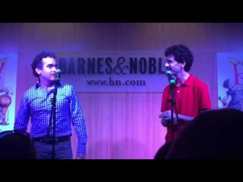 Brian d'Arcy James & John Cariani Sing God, I Hate Shakespeare