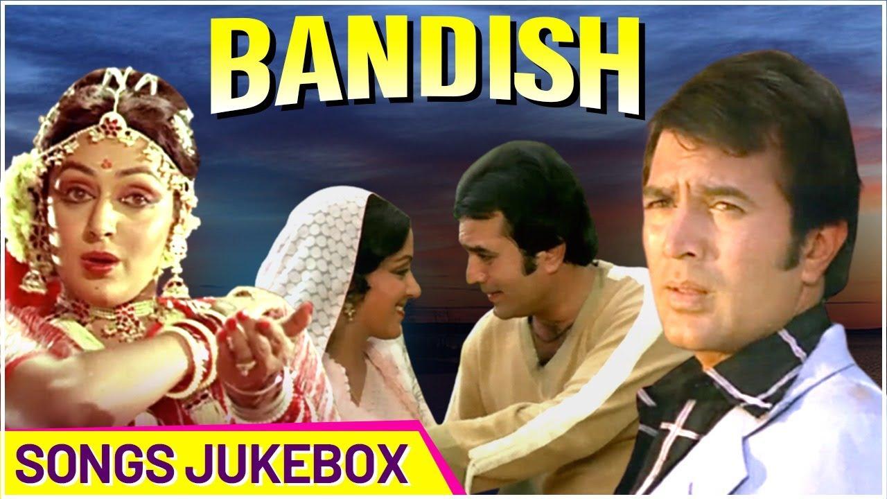 Bandish (1980) Songs - Jukebox | Rajesh Khanna & Hema Malini | Hindi Evergreen Romantic Songs