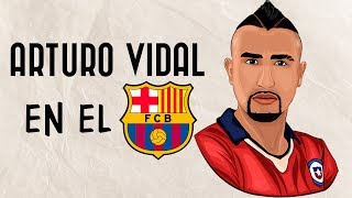 ARTURO VIDAL | ¿Que aportará al FC Barcelona?