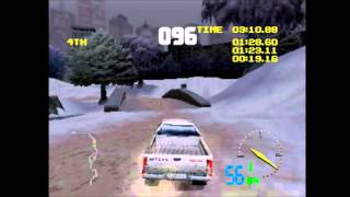 Test Drive Off-Road 3 (PS1) Gameplay 9 - Nissan Frontier