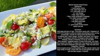 Shaved Squash Salad Recipe