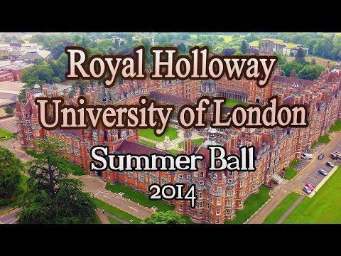 Royal Holloway University 2014 Summer Ball - RHUL Aerial Video .