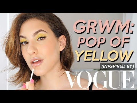 VOGUE INSPIRED GRWM: POP of Neon YELLOW  Jamie Paige