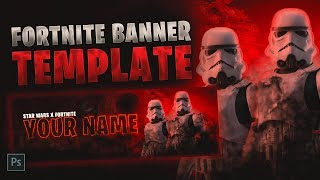Star Wars Fortnite Banner Template [ + PHOTOSHOP FREE DOWNLOAD ]