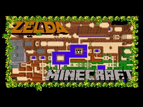 Zelda Minecraft: Legend of Minecraft = The Legend of Zelda (NES ...