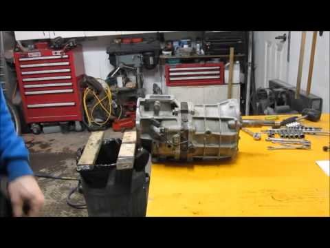 AX5 Transmission - Disassembly and Inspection 1 of 2