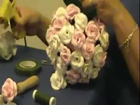 Como hacer un topiario con rosas en goma eva youtube - Flore de goma eva ...