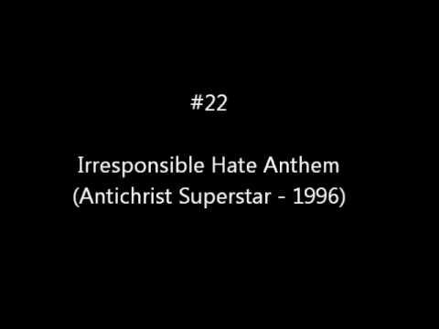 Top 50 Marilyn Manson Songs