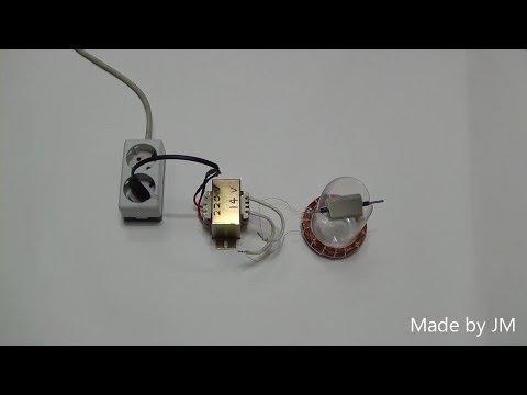 AC synchronous motor prototype