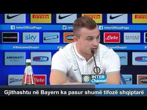 """Xherdan Shaqiri: """"Kosova dhe Shqipëria janë bashk."""" / """"Kosovo and Albania are one!"""""""