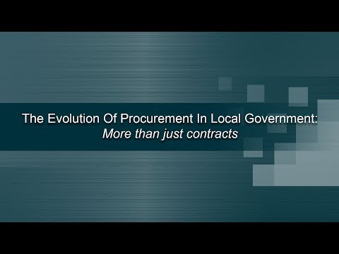 Part 4 - The Evolution of Procurement: More Than Just Contracts