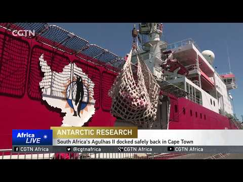 South Africa's Agulhas II docks safely back in Cape Town
