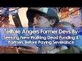 Telltale Games Angers Ex-Devs by Seeking New Walking Dead Funding & Partners Before Paying Severance