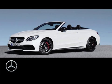 das neue mercedes amg c 63 s cabriolet trailer youtube. Black Bedroom Furniture Sets. Home Design Ideas
