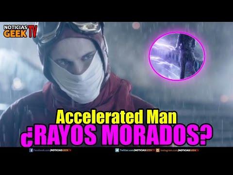 Accelerated man rayos morados Flash temporada 3