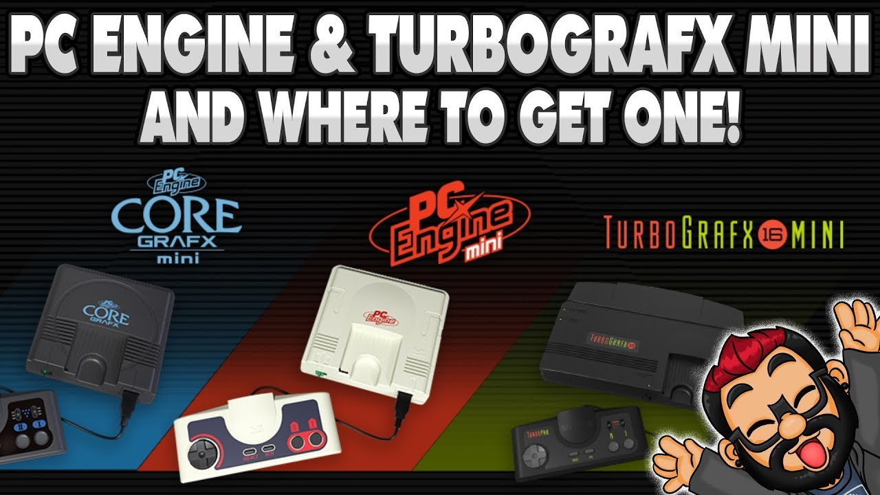 PC Engine Mini & Tg16 Mini PRE ORDERS OPEN!! #turbografxmini #pcenginemini