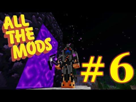 Minecraft : All The Mods 1.10.2 : #6 - The Hunt for Ardite & Cobalt Ft. Nerd Poles!