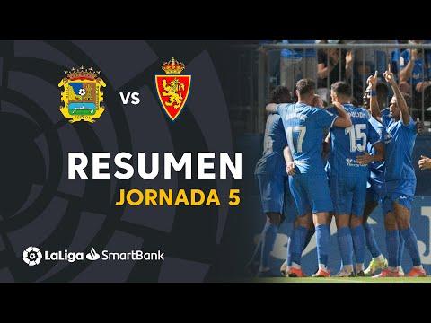 CF Fuenlabrada Zaragoza Goals And Highlights