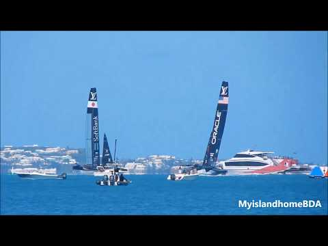 AC35 Update Oracle Team USA vs SoftBank Team Japan Practice starts May 16, 2017