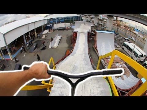 SECRET MEGA RAMP IN JAPAN!