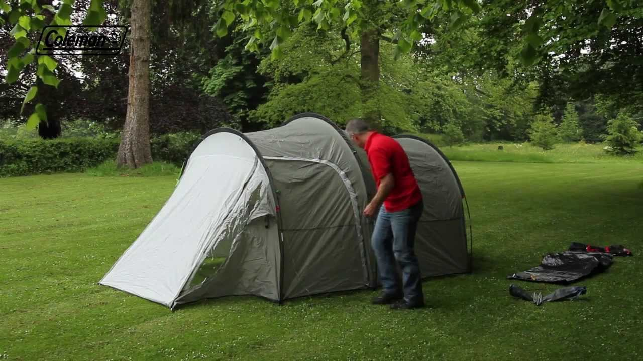 & Coleman® Coastline 3 Plus - Touring u0026 Weekend Camping Tent - YouTube