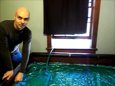 How To Drain A Waterbed