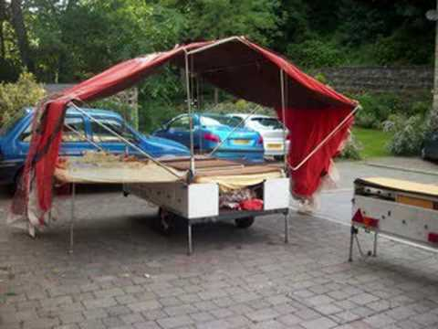 & Trailer Tent - Conway Campa DL - YouTube