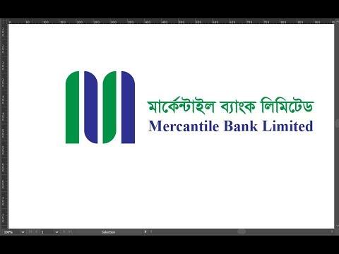 Mercantile Bank Limited #logo design in illustrator cc