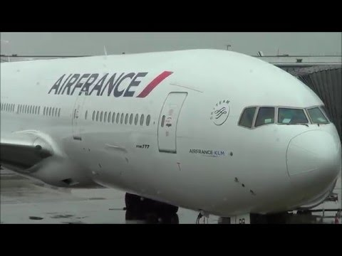 Air France Flight Paris to Miami Boeing 777-300ER