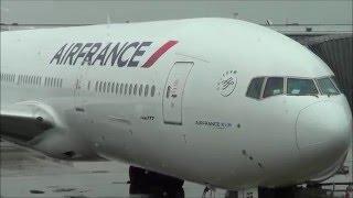 Air France Flight Paris to Miami Boeing 777-300ER