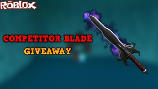 HOW TO GET A COMPETITOR BLADE II WITHOUT GRINDING! *EASY STEPS*(ROBLOX ASSASSIN COMP BLADE GIVEAWAY)